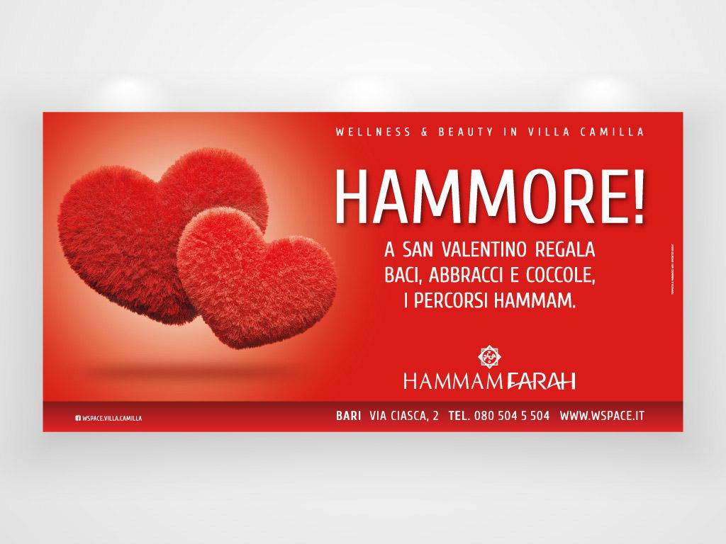 Hammore - campagna pubblicitaria per hammam farah