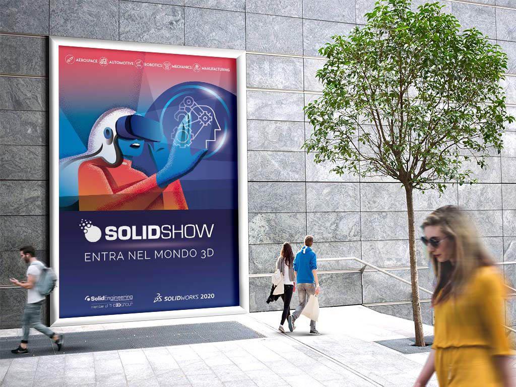 campagna pubblicitaria dell'evento Solidshow 2019