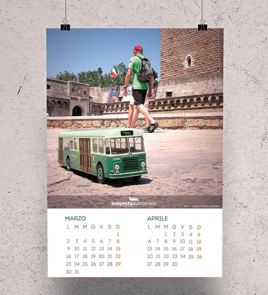 Shooting fotografico - calendario 2020 Autoservizi Tempesta