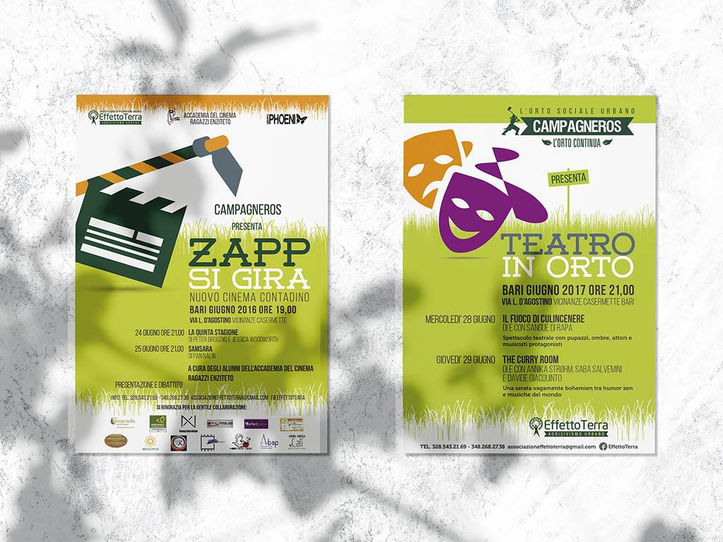 rassegna di cinema e teatro nell'orto urbano effetto terra-campagneros