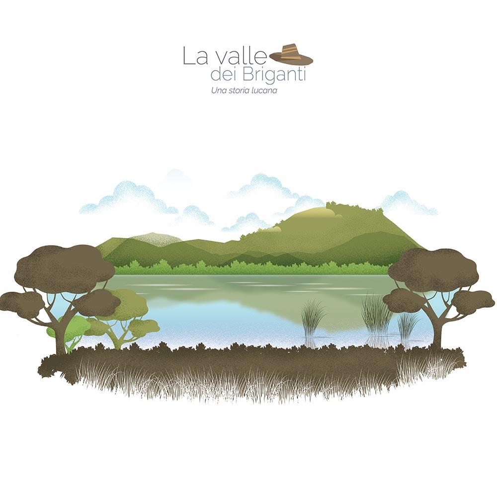 effort studio illustrazioni per la valle dei briganti