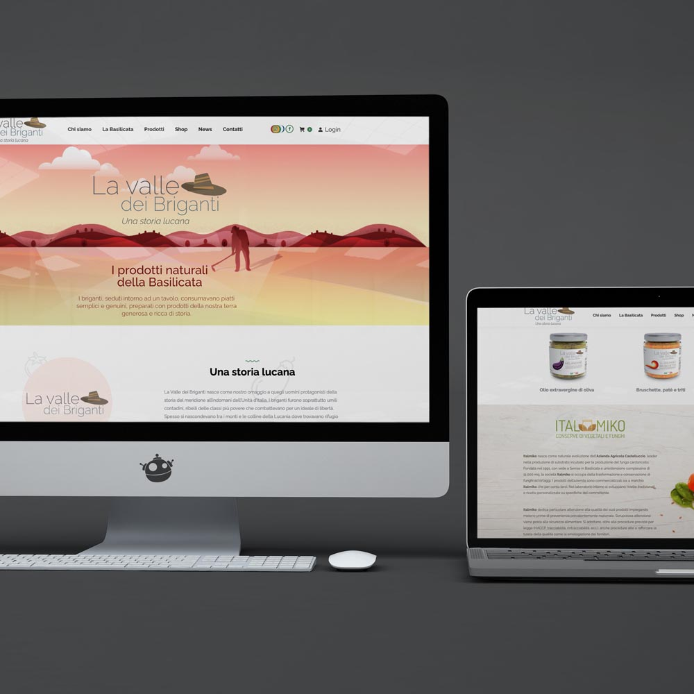 effort studio web site la valle dei briganti
