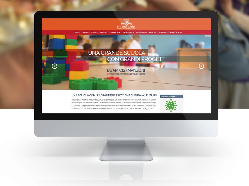 """home page Istituto Comprensivo """"De Amicis-Manzoni"""" di Massafra"""